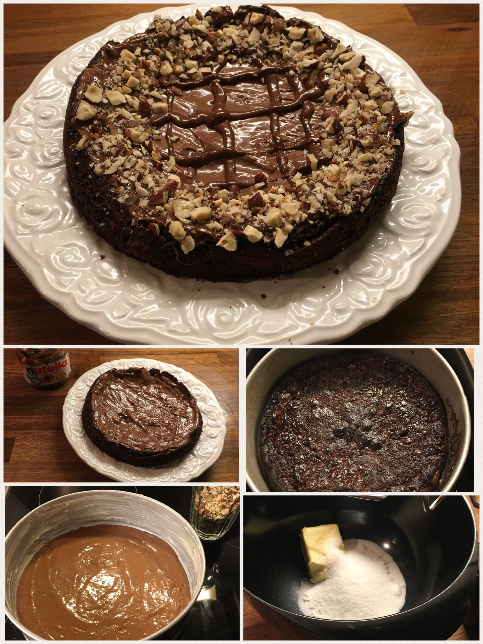 Nutella tærte