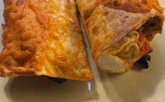 tortillawraps med grøntsager