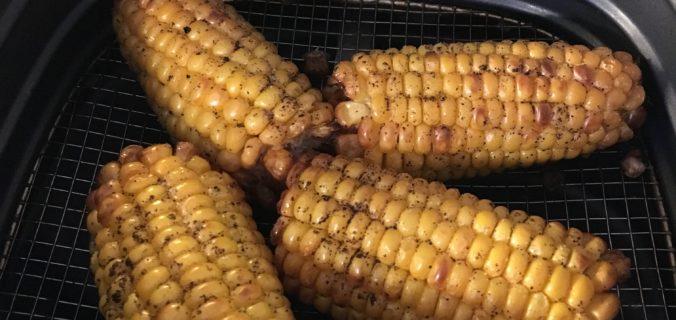 grillede majskolber