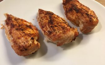 stegt kyllingebryst