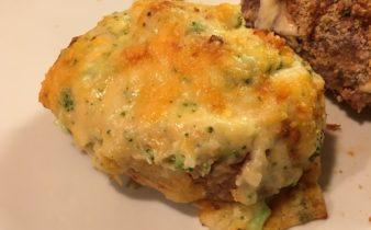 Fyldte kartofler med broccoli og cheddar
