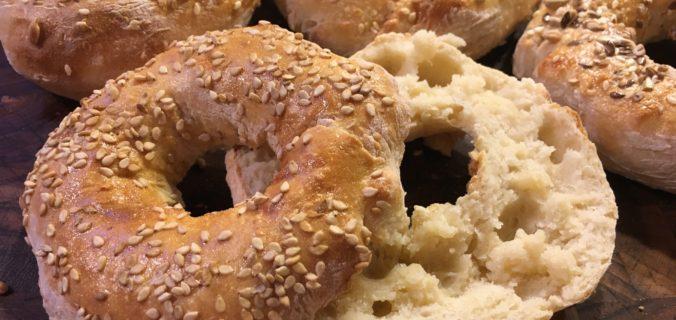 Bagels - bagt med ganske få ingredienser