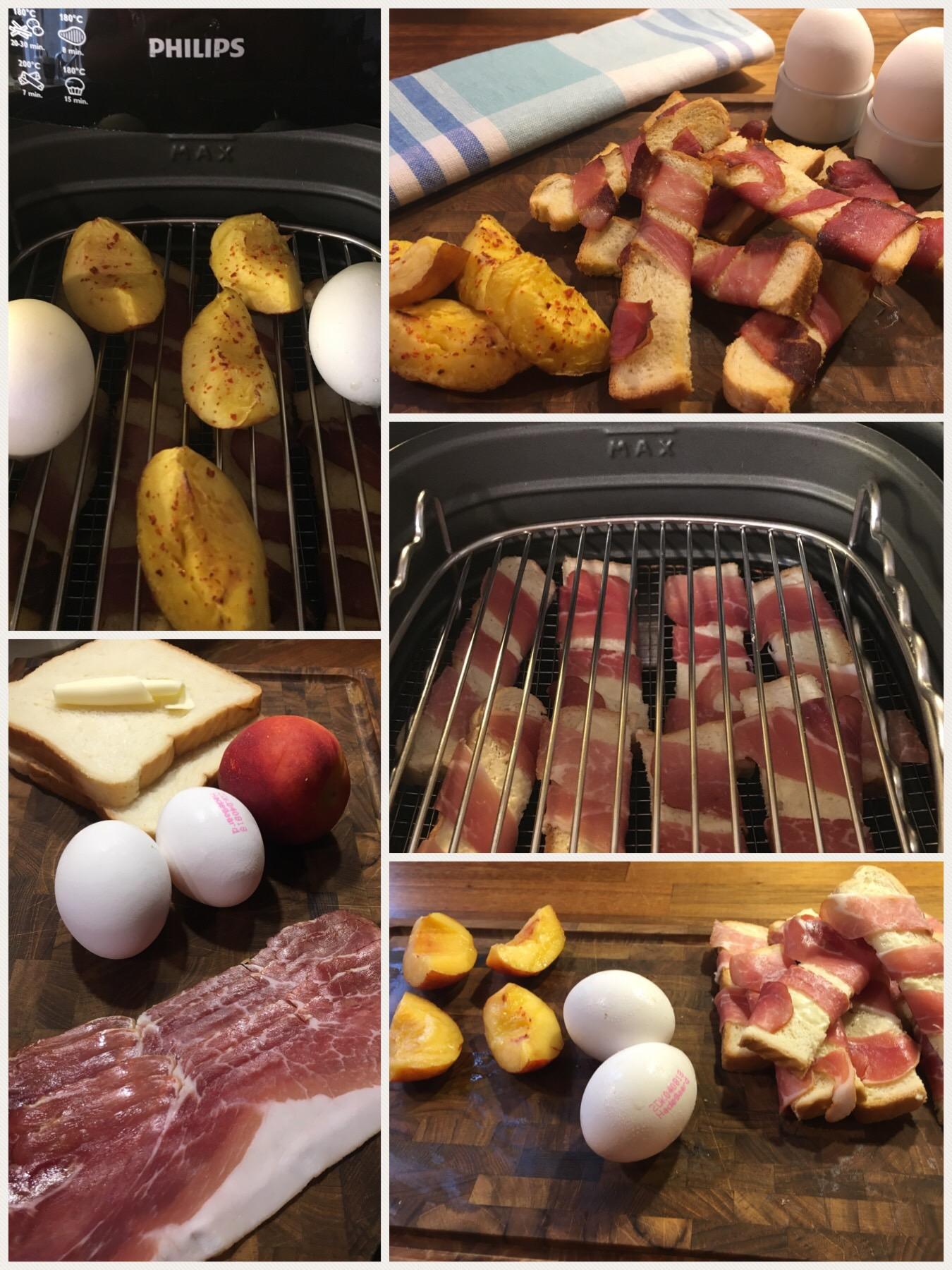 Morgencomplet til 2 – Alt tilberedt sammen på kun 8 minutter