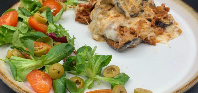 Græsk moussaka med aubergine