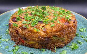 Fried rice – nemme stegte ris med grønt
