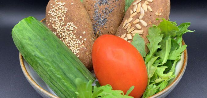 Nemme og sunde rugbrødsklappere til madpakken