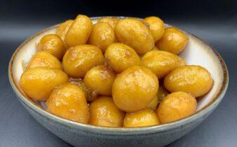 Perfekte nemme brunede kartofler - som næsten passer sig selv
