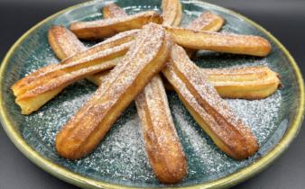 Airfryer churros (spanskrør)