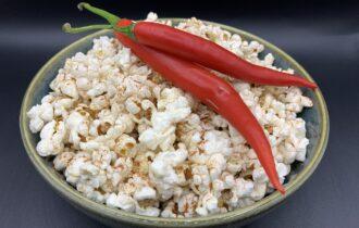 Airfryer popcorn med chili