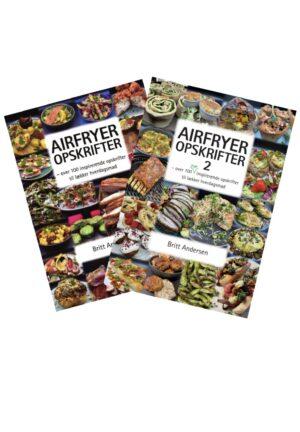 BOGPAKKE - AIRFRYER OPSKRIFTER 1 & 2