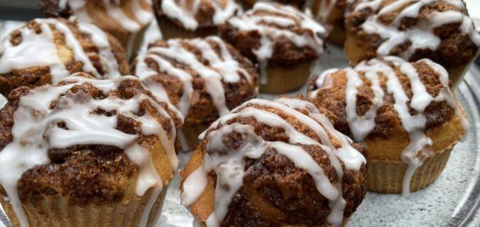 Muffins med kanelremonce